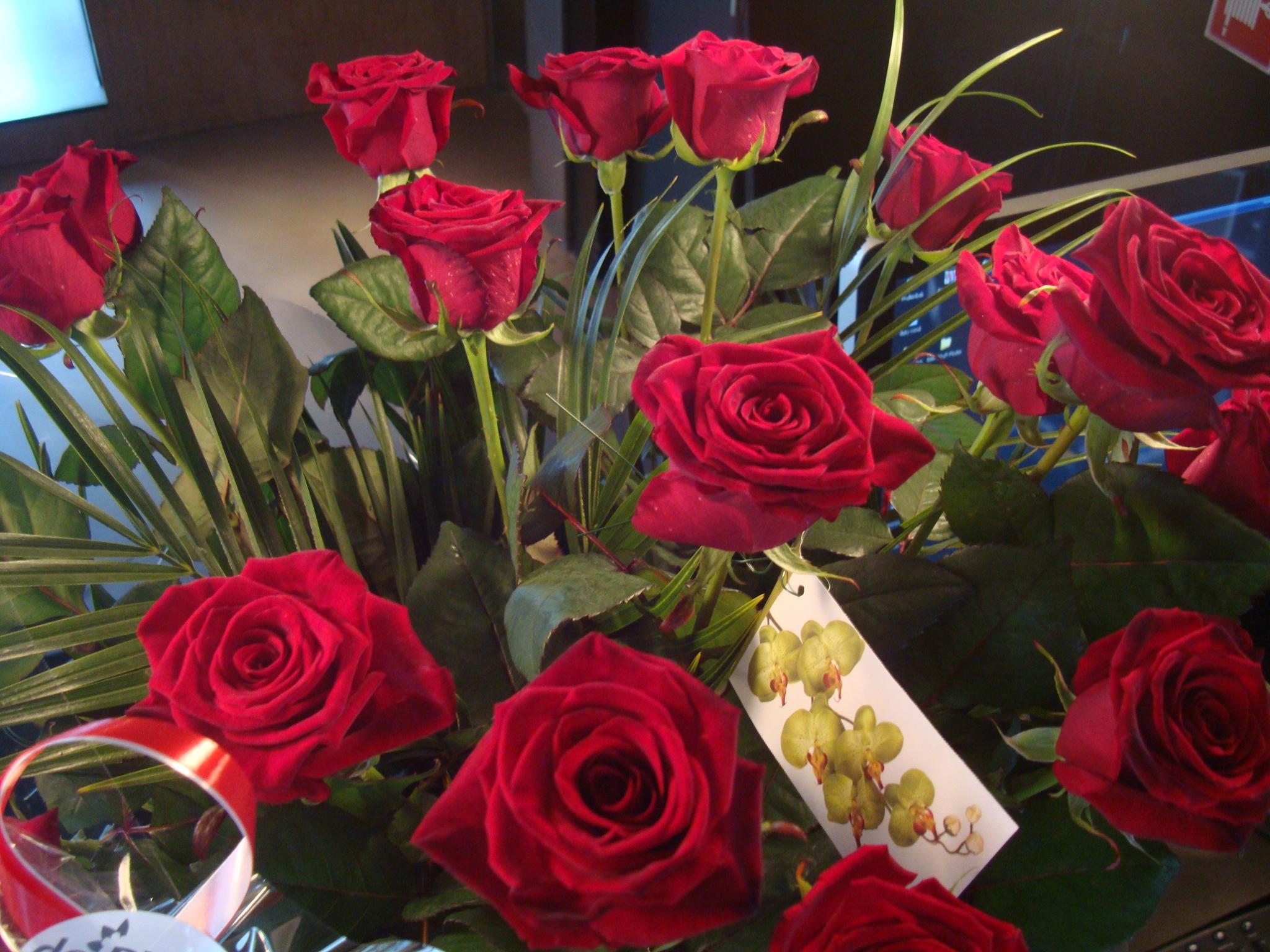 Secret admirer sending flowers