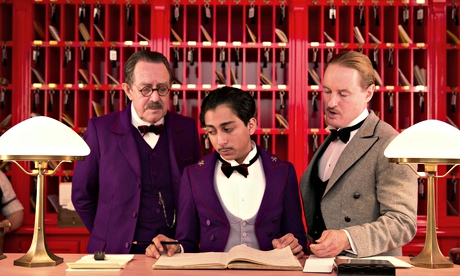 THE GRAND BUDAPEST HOTEL film